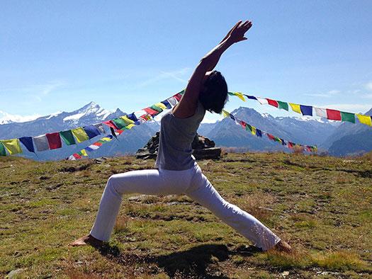 Vacanza Yoga in montagna