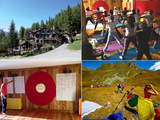 Vacanza Yoga in montagna a Vetan